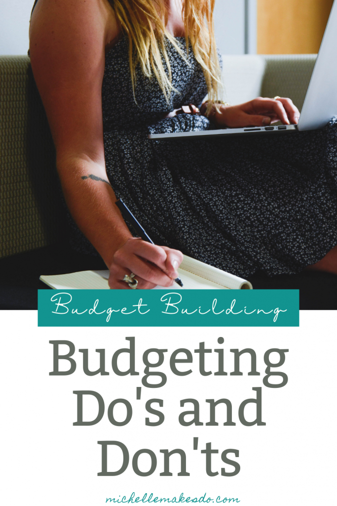 Budgeting Do's and Don'ts